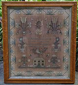 Kathy Barrick - Ann Smith - A quaker Reproduction Sampler THUMBNAIL