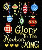 Bobbie G Designs - Glory To The Newborn King