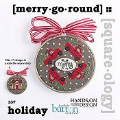 Just Another Button Company - Square.ology - Merry Go Round 137 THUMBNAIL