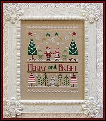 Country Cottage Needleworks - Merry and Bright THUMBNAIL