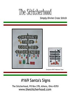 The Stitcherhood - Santa's Signs MAIN