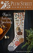 Plum Street Samplers - Olga's Autumn Stocking THUMBNAIL