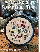 Needle Work Press - What Time Is It - Sampler Time THUMBNAIL