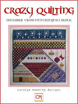 Carolyn Manning Designs - Crazy Quilting December Block MAIN