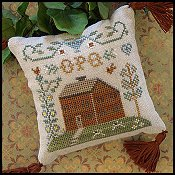 Little House Needleworks - ABC Samplers 6 - O P Q