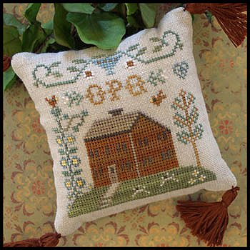 Little House Needleworks - ABC Samplers 6 - O P Q MAIN