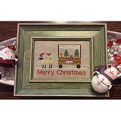 Needle Bling Designs - The Sheep Peddler - Merry Christmas