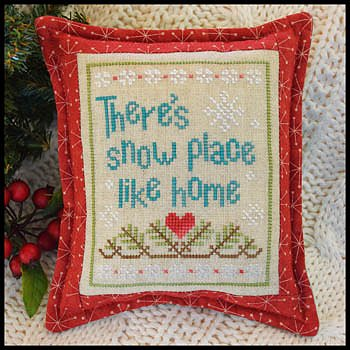Country Cottage Needleworks - Snow Place Like Home - Snow Place 3 MAIN