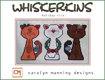 Carolyn Manning Design - Whiskerkins - Holiday Trio MAIN