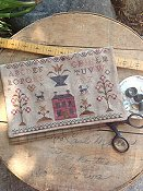 Stacy Nash Primitives - Schoolgirl Sampler Sewing Bag