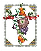 Vickery Collection - Fruit Cross
