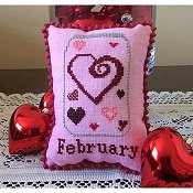 Needle Bling Designs - What's In Your Jar Monthly Series - February