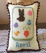 Needle Bling Designs - What's In Your Jar Monthly Series - April