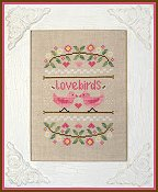 Country Cottage Needleworks - Lovebirds THUMBNAIL