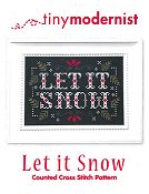 Tiny Modernist - Let It Snow THUMBNAIL