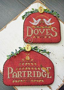 Hands On Design - 12 Days - Partridge & Doves