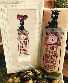 Amy Bruecken Designs - Crazy Dog Lady
