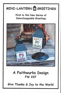 Faithwurks Designs - Mini Lantern Greetings #1 MAIN