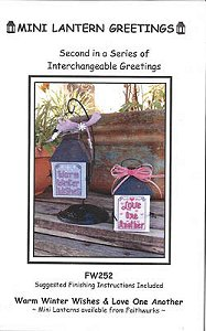 Faithwurks Designs - Mini Lantern Greetings #2 MAIN