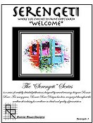 "Ronnie Rowe Designs - Serengeti ""Welcome"""