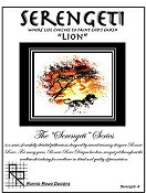 "Ronnie Rowe Designs - Serengeti ""Lion"""