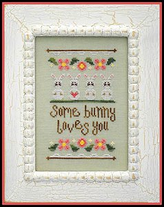 Country Cottage Needleworks - Some Bunny Loves You MAIN