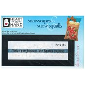 Heart In Hand Needleart - Snowscapes & Snow Squalls Part 2
