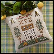 Little House Needleworks - ABC Samplers 9 - X Y Z