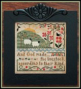 Little House Needleworks - Sixth Day Of Creation