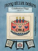 Frony Ritter Designs - Celebration Flags - Cake THUMBNAIL