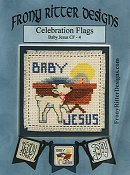 Frony Ritter Designs - Celebration Flags - Baby Jesus THUMBNAIL
