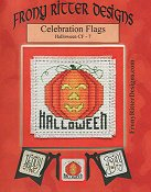 Frony Ritter Designs - Celebration Flags - Halloween THUMBNAIL