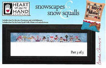 Heart In Hand Needleart - Snowscapes & Snow Squalls Part 3 MAIN
