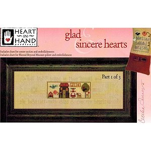 Heart In Hand Needleart - Glad & Sincere Hearts Part 1 MAIN