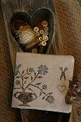 Stacy Nash Primitives - Dogwood Farms Needle Book