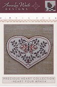 Annalee Waite Designs - Precious Heart Collection - Heart Four