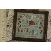 With Thy Needle & Thread - Heart & Hand Sampler