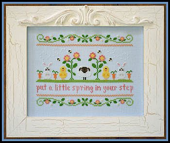 Country Cottage Needleworks - Spring In Your Step MAIN