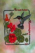 Crossed Wing Collection - Commemorative Hummingbirds of the World 2017 - Broad-tailed Hummingbird THUMBNAIL