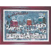 Praiseworthy Stitches - December Snow THUMBNAIL