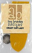 Amy Bruecken Designs - Crazy Cat Lady Embellishment Pack