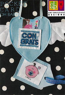 Amy Bruecken Pocket Card - Oh Baby