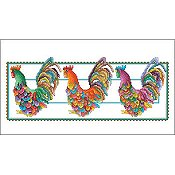Vickery Collection - Rooster Row THUMBNAIL