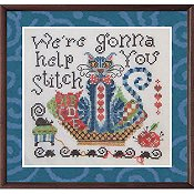 Tempting Tangles Designs - Mister Blueberry Blue