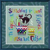 Tempting Tangles Designs - Miss Kitty Cupcake