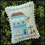Country Cottage Needleworks - Main Street #1 Flower Shop THUMBNAIL