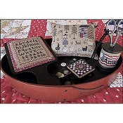 The Scarlett House - American Homestead Sewing Set THUMBNAIL
