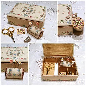 MTV Designs - Elegance In Bloom Sewing Box