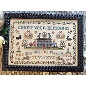 Annie Beez Folk Art - Count Your Blessings THUMBNAIL