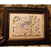 Homespun Elegance - Plain & Fancy Collection - Tis A Lovely Bird